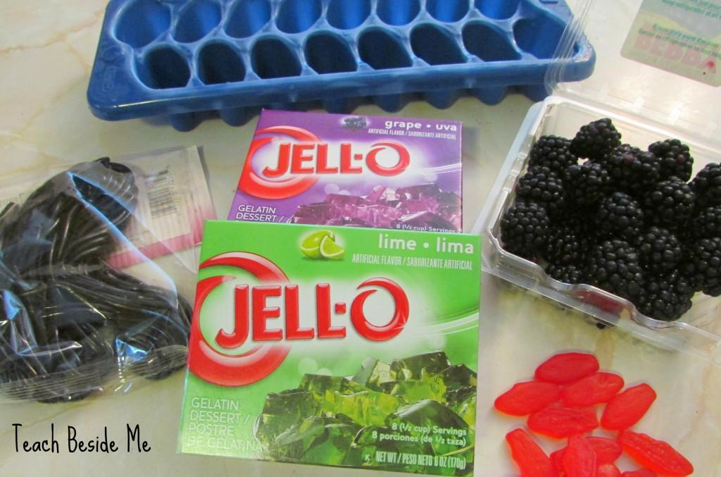 JELL-O Spider Jigglers