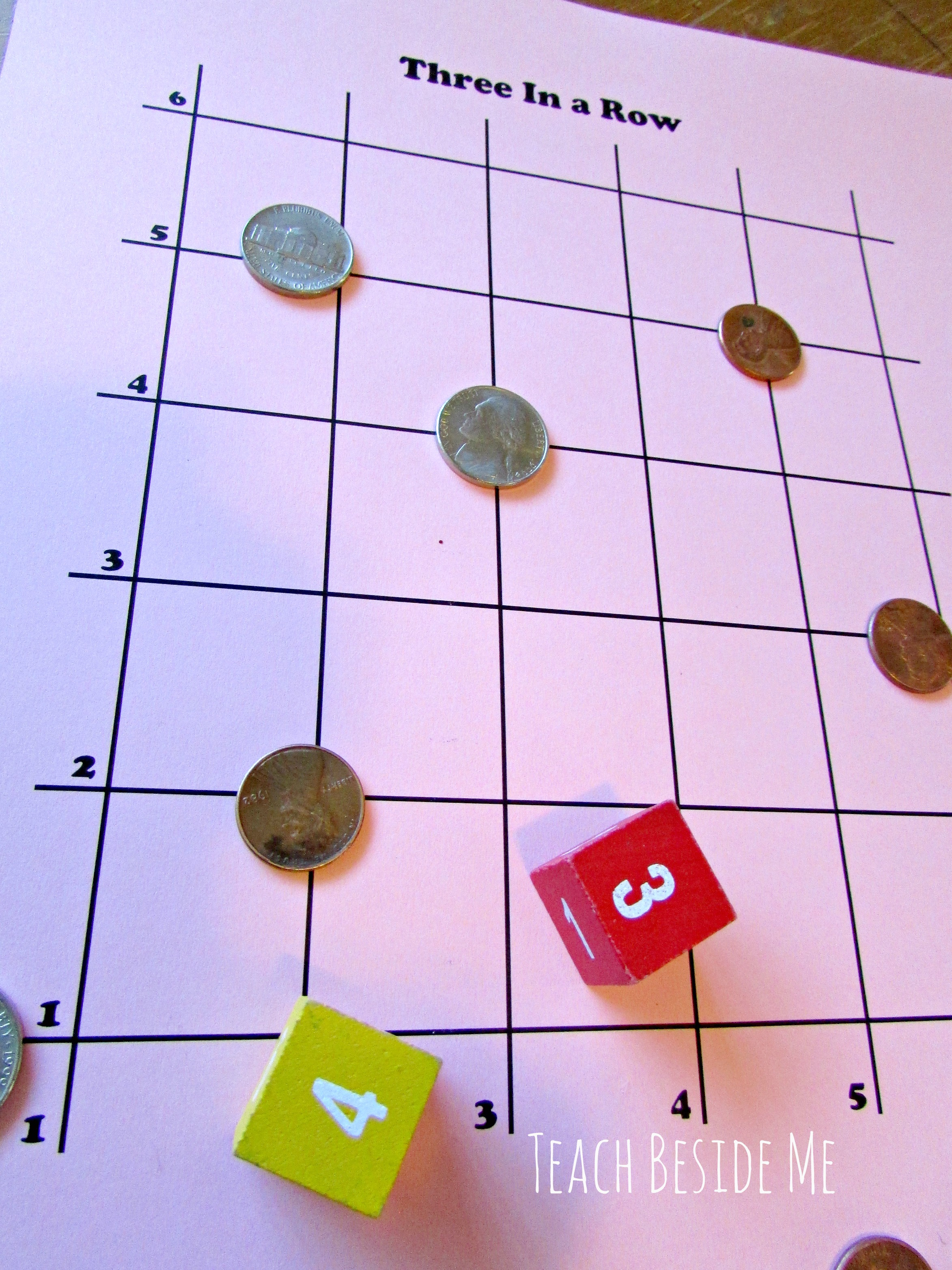 Math Grid Game