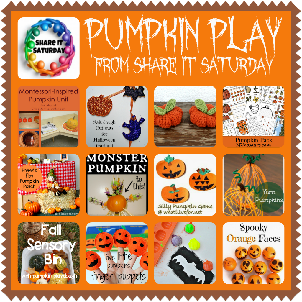 Pumpkin Play Ideas