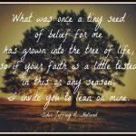 Faith~ Motivational Quote