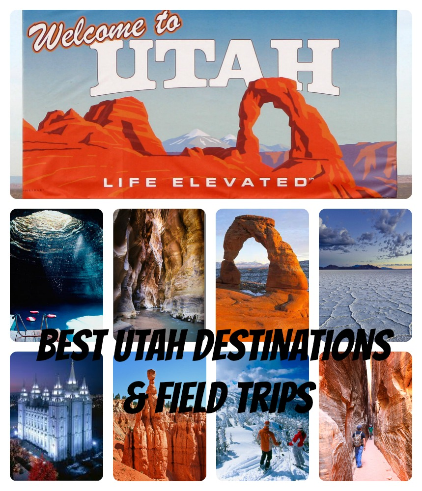 Utah destinations & Field trips