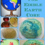 Geography From A to Z~ E is for Edible Earth's Core Project