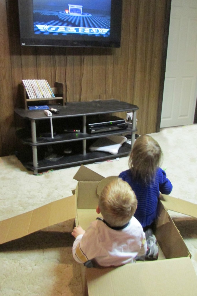 cardboard box drive in movie