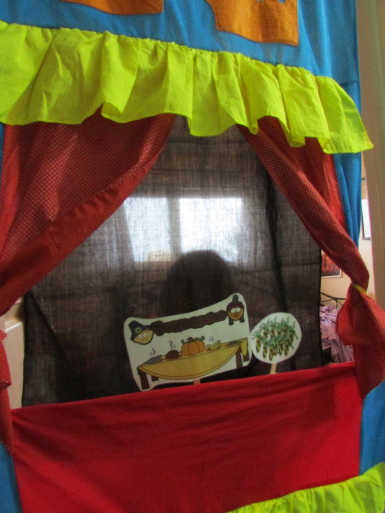 Thanksgiving Puppet Show