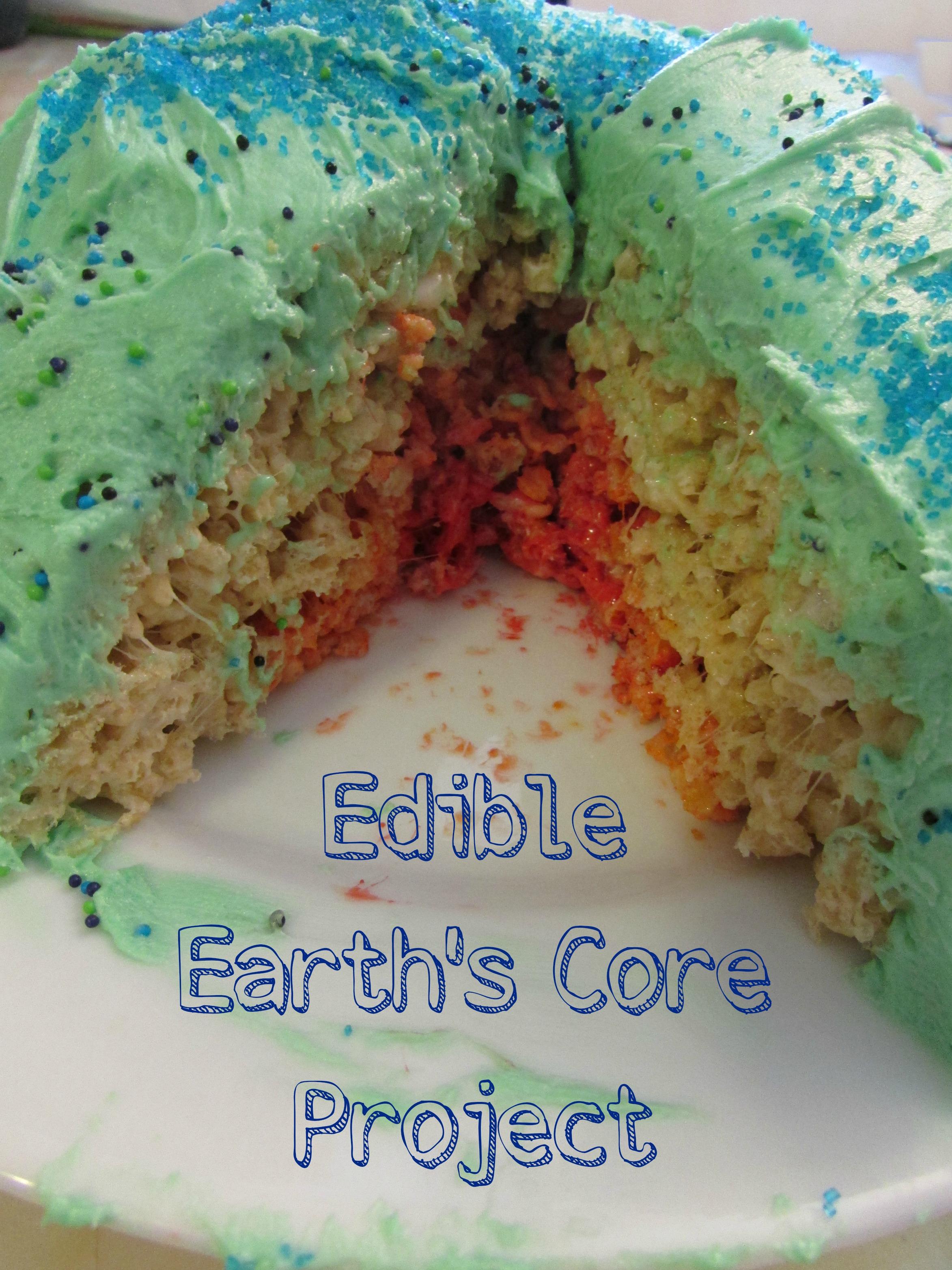 Earth Model Project Edible Earths Core Project