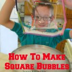 Bubble Science- Square Bubbles