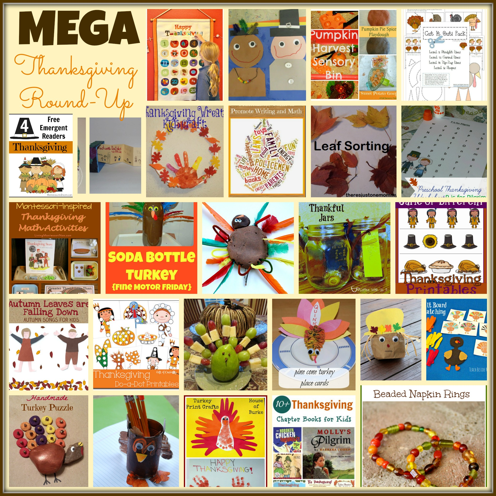 Mega Thanksgiving Round up from Share It Saturday