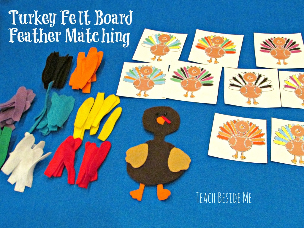 turkey activities, felt board turkey activity