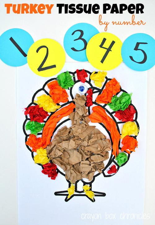 turkey tissue by number