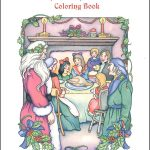 Christmas Carol Coloring Book