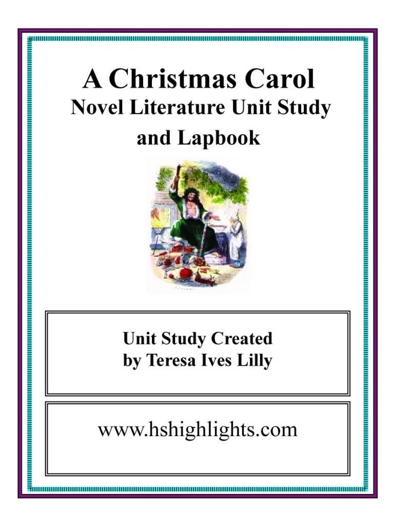 Dickens Christmas Carol Unit
