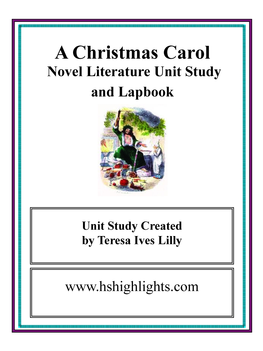 A Christmas Carol Lesson Plans For Middle School ...