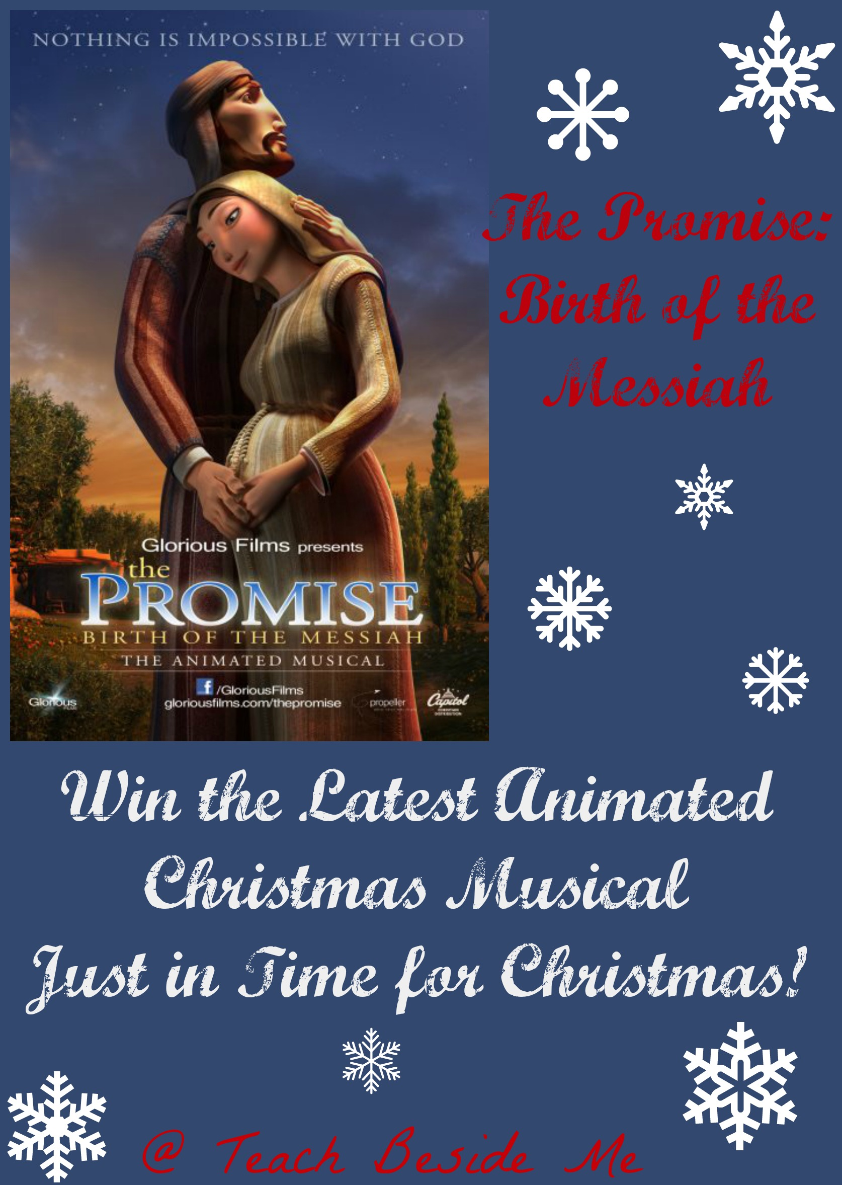 The Promise ~ Christmas Movie Review & Giveaway – Teach Beside Me