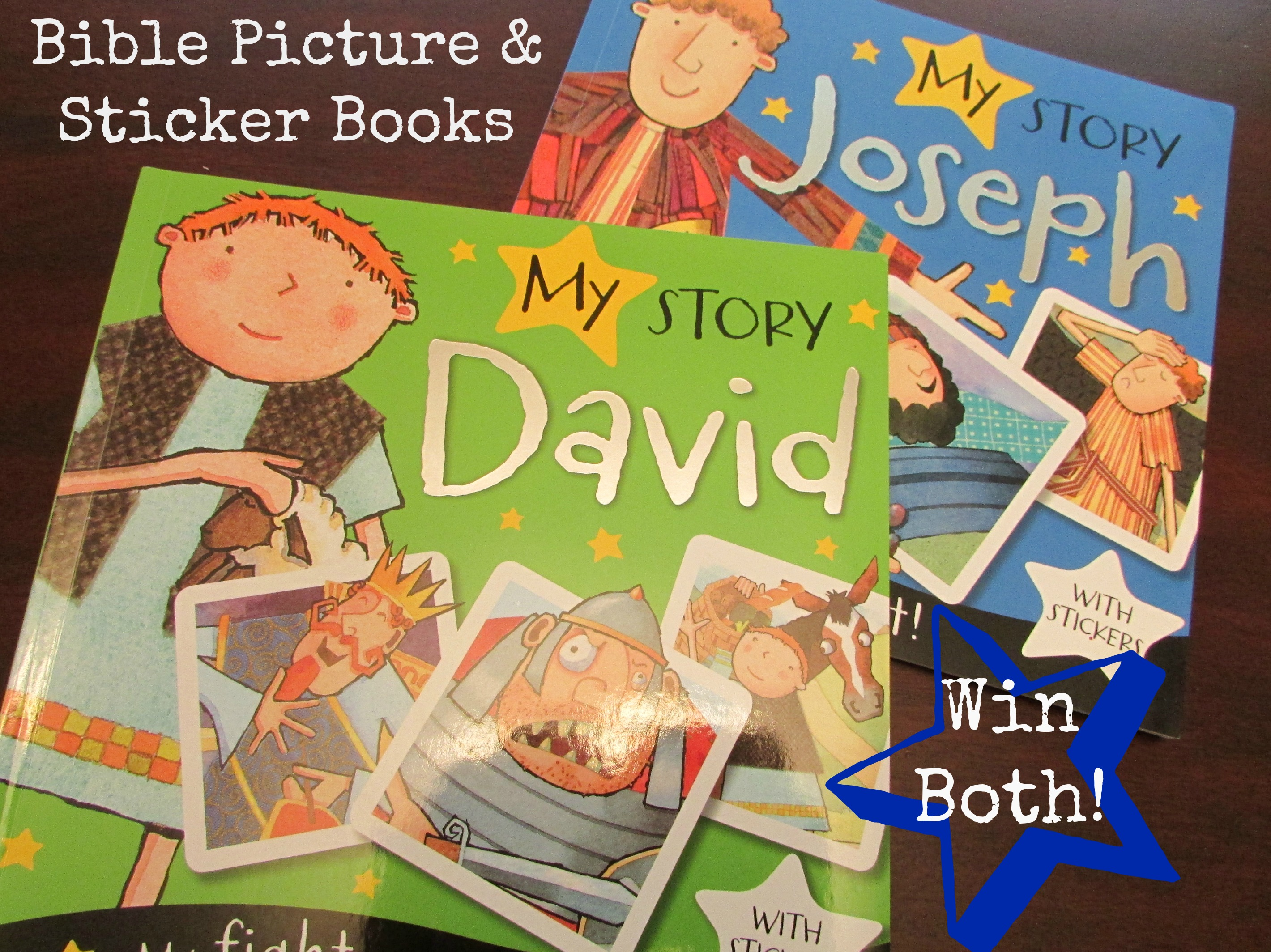 Bible Story Books Review & Giveaway - Teach Beside Me