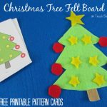 Christmas Tree Felt Board With Printable Cards