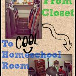 From Closet to a Homeschool Room~ Guest Post
