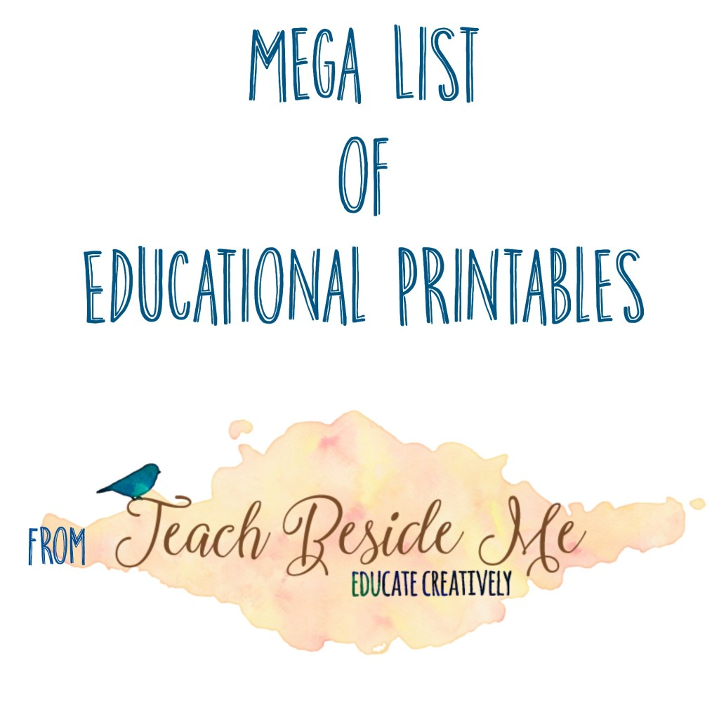 Educational Printables