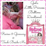 God's Little Princess Bedtime Devotional Book for Kids ~Giveaway!!