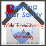 Keeping Your Sanity While Homeschooling & Mothering