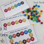 M & M Math Pattern Cards