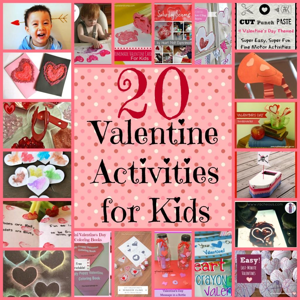 Valentines Activities for Kids