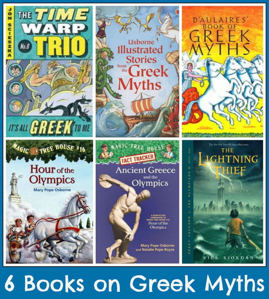 books on Greek Myths