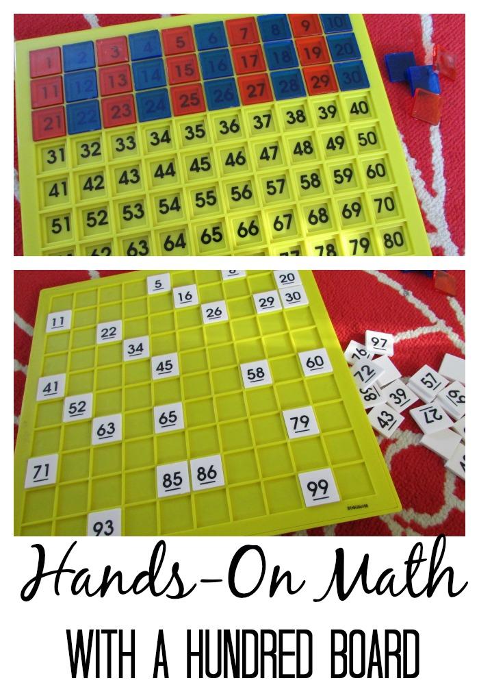 hundred board math