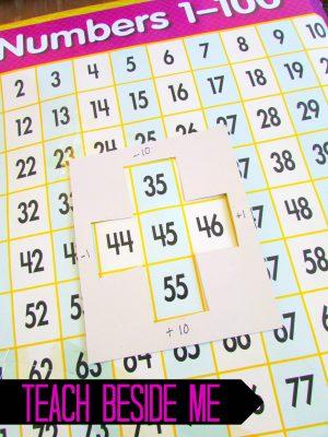 hundred chart learning