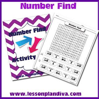 hundred chart number find