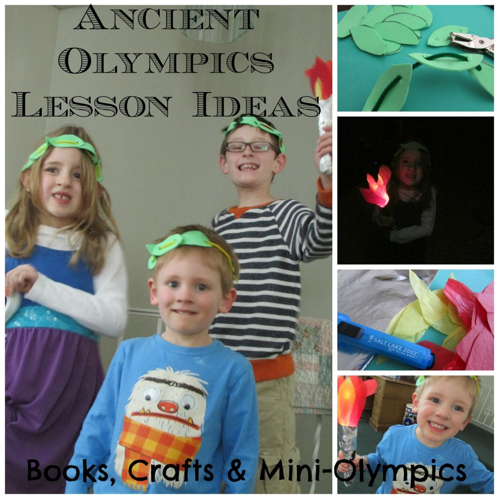 greek olympics lesson ideas