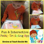 Potty Training with the Me-ify Potty Star App
