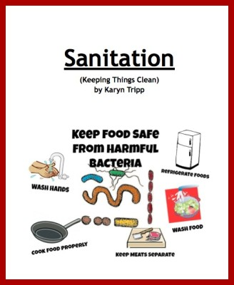 food safety sanitation mini booklet teach beside me