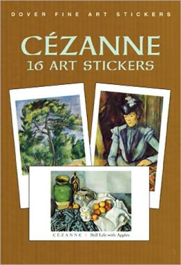 cezanne art stickers