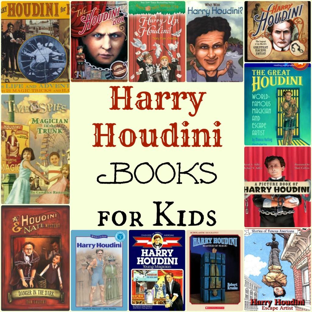 houdini books for kids