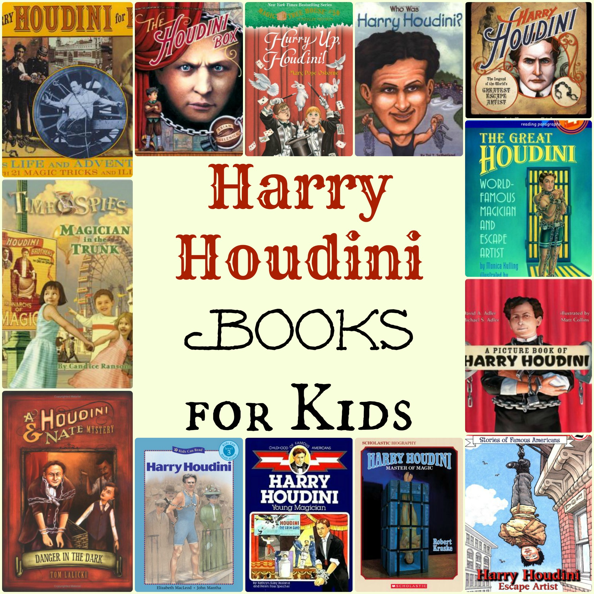 a biography of harry houdini a magician View actual film footage of harry houdini: see the great magician in action, hear his voice houdini in the movies:  read harry houdini's biography and trivia, see .