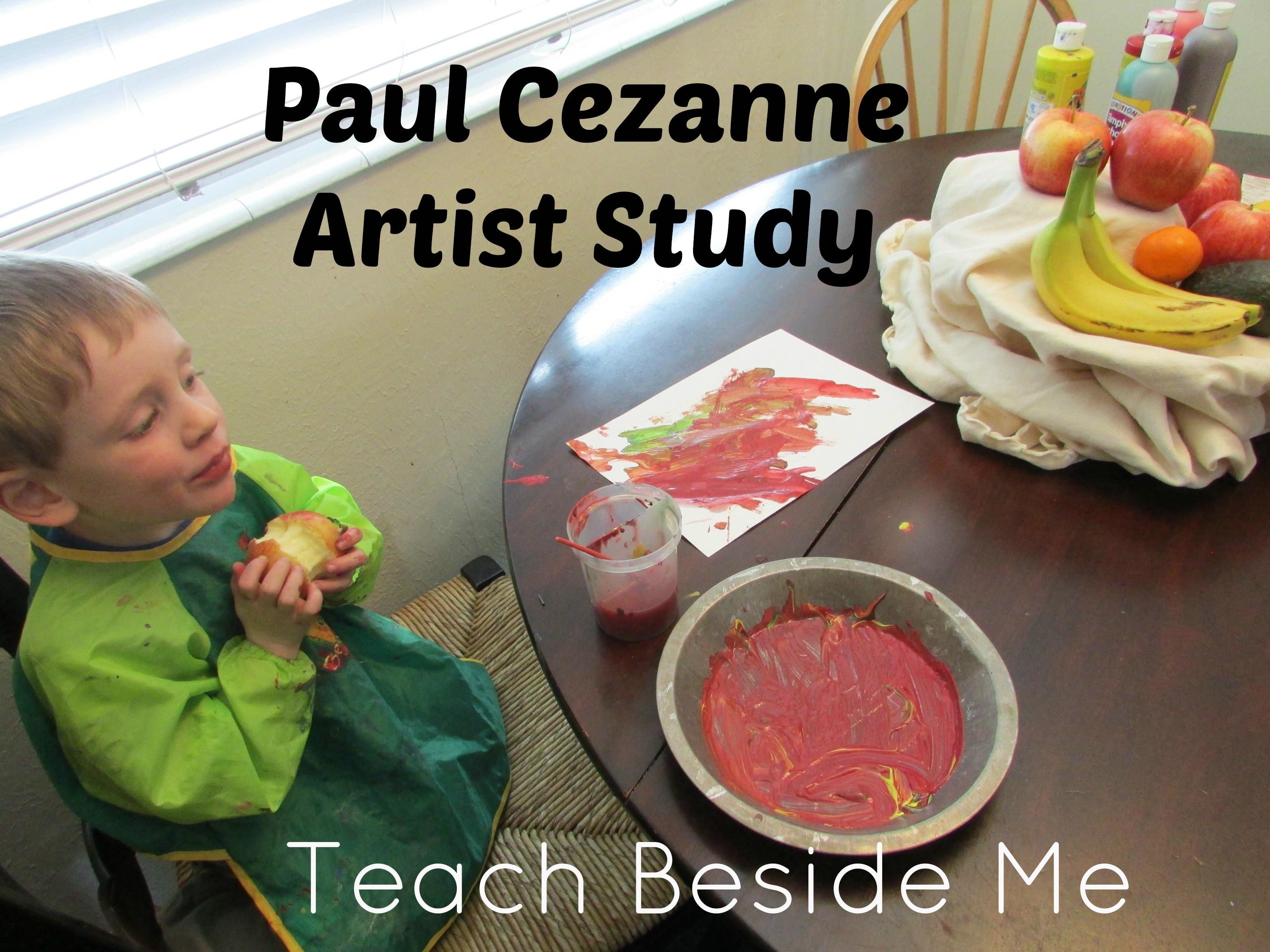 paul cezanne art with kids