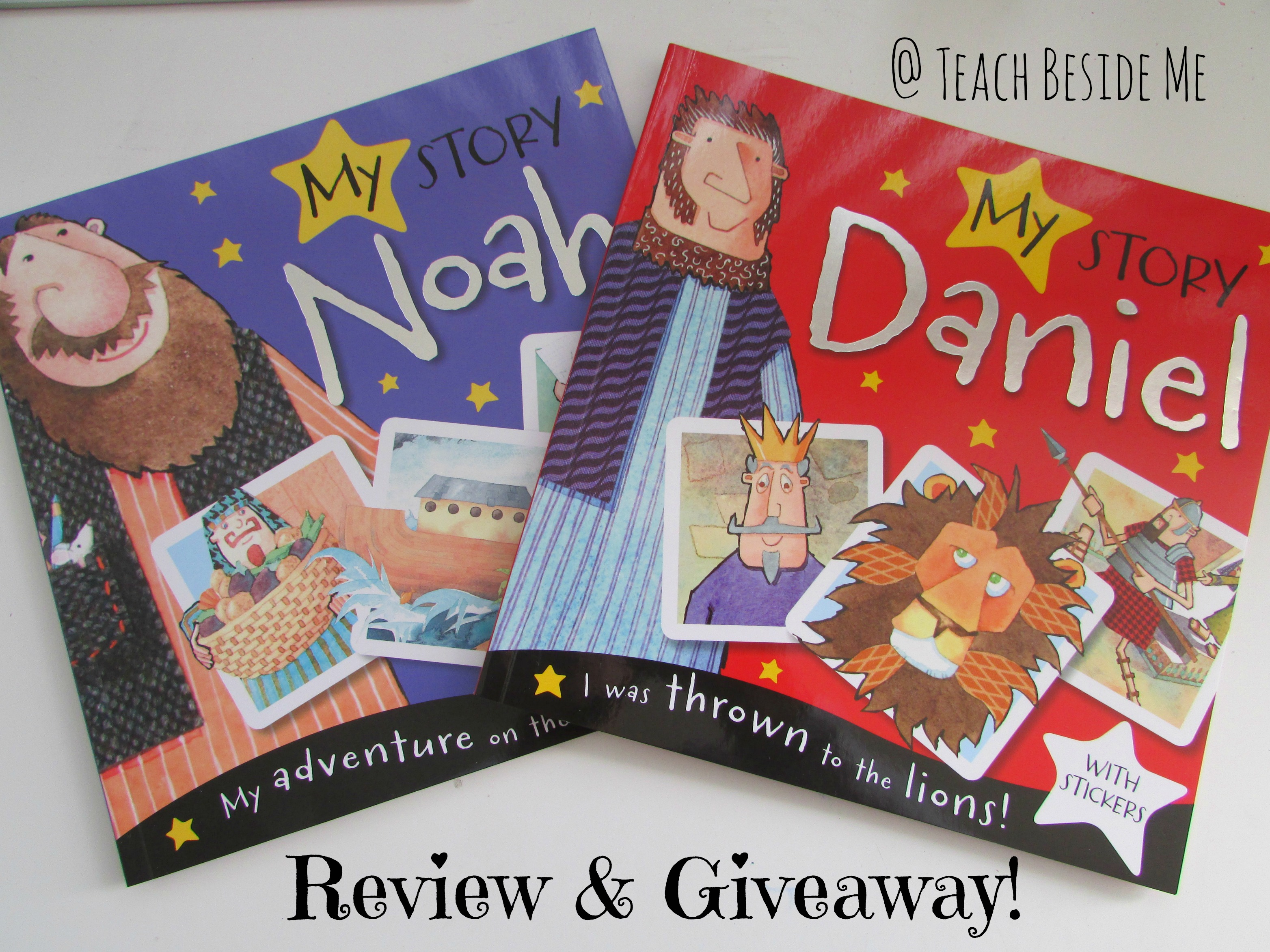 My Story Bible Picture Books Review & Giveaway! - Teach Beside Me