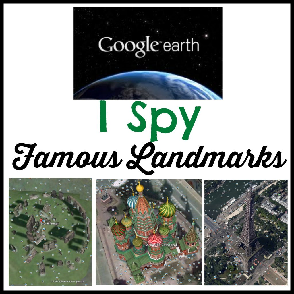 I Spy Famous Landmarks