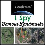 Famous Landmarks I Spy With Google Earth