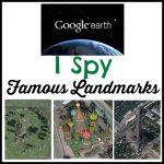 Famous Landmarks I Spy With Google Earth