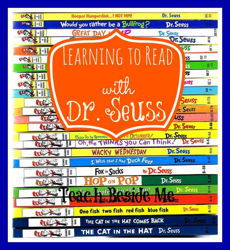 Learning to Read with Dr. Seuss book list