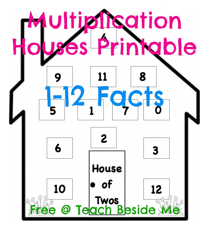 Multiplication Houses Freebie!