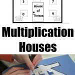 Multiplication Facts for Kids: Multiplication Houses Printable!