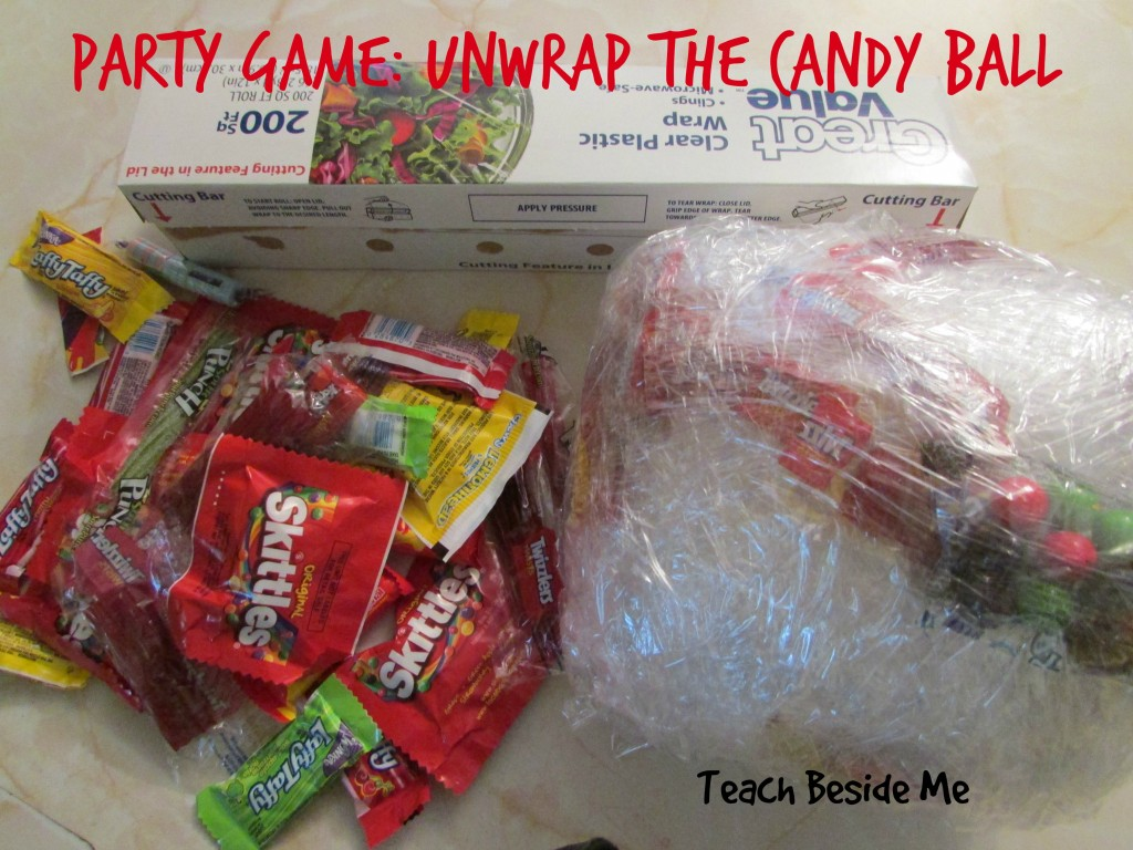 Party Game- Unwrap the Candy Ball