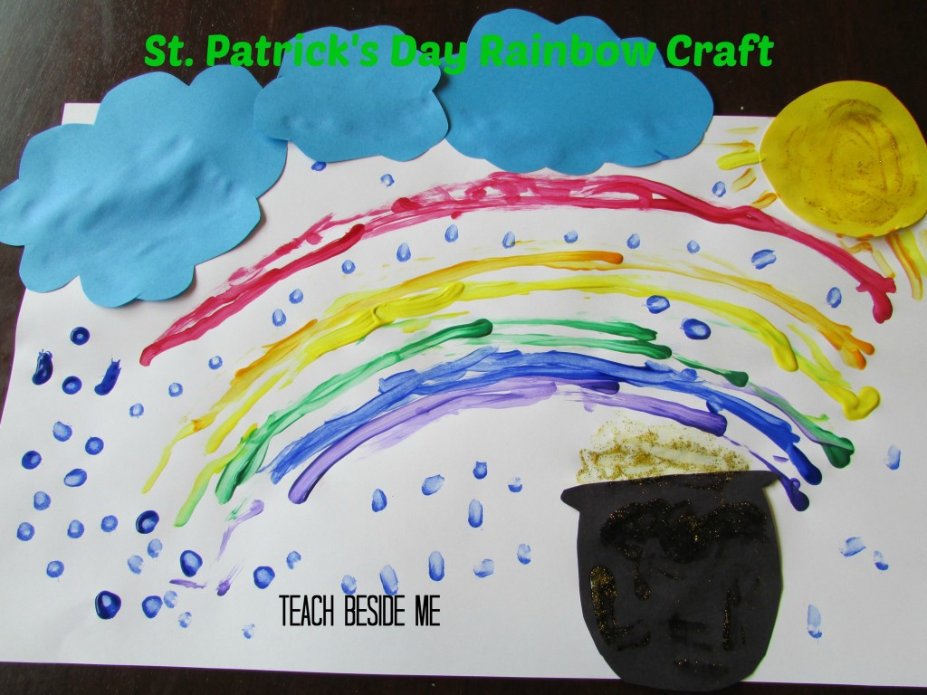Rainbow Craft St. Patrick's Day