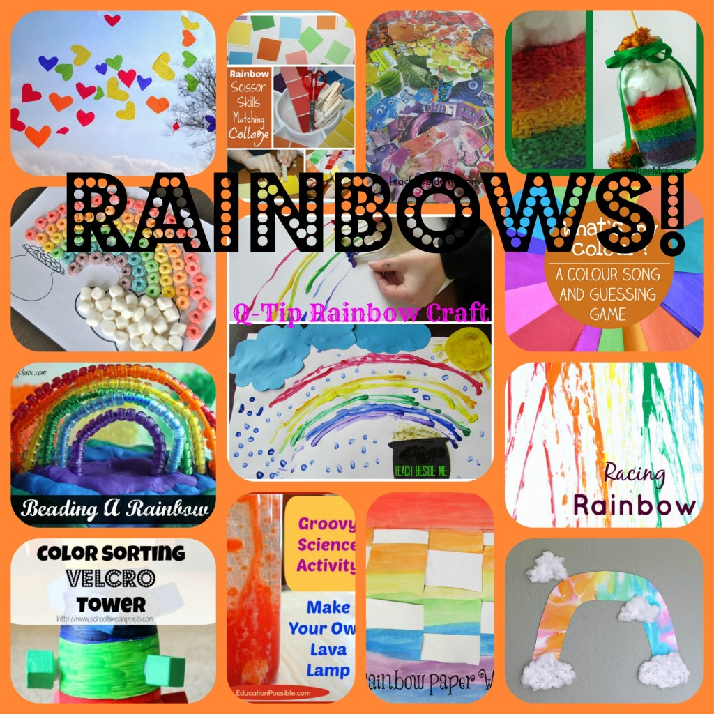 Rainbow Ideas for Kids