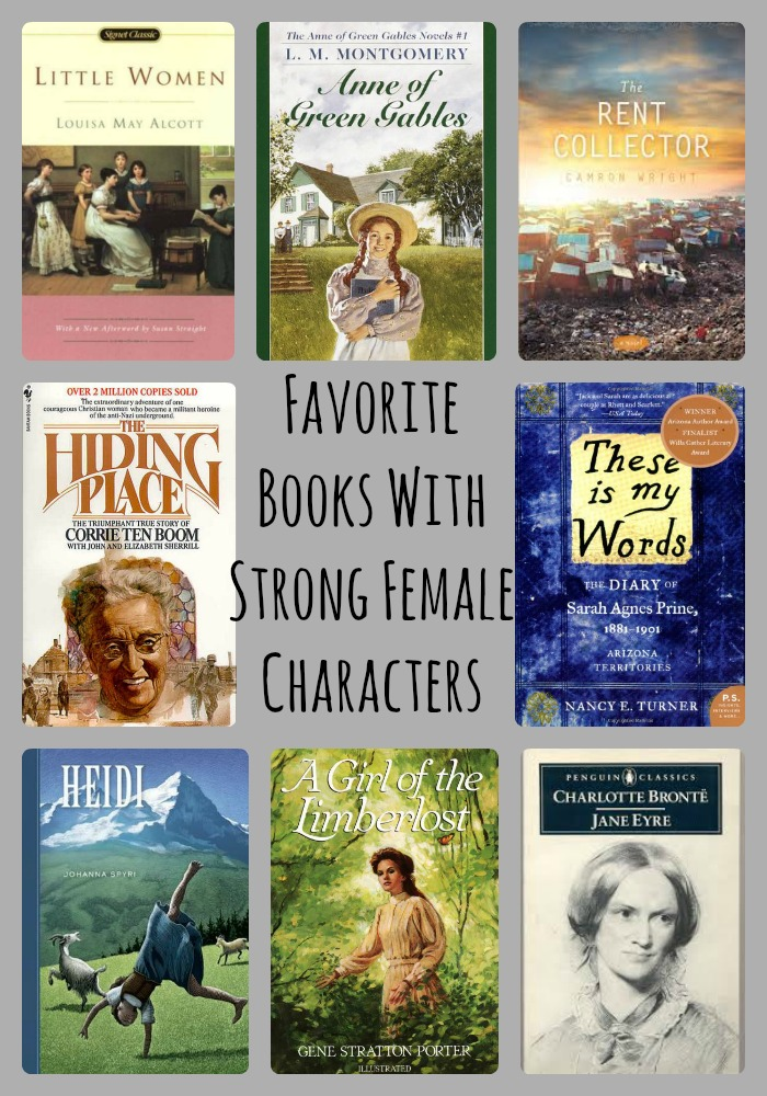 books with strong female characters