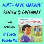 Must Have Marvin Book Review & Giveaway!