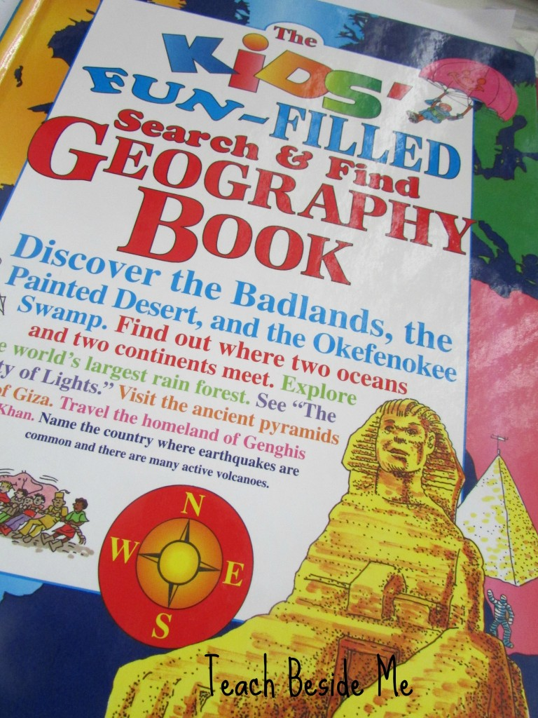 search and find geography book