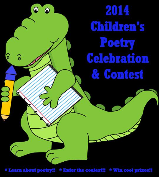 2014 Childrens Poetry Contest Celebration badge